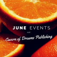 JUNE EVENTS and APPEARANCES!
